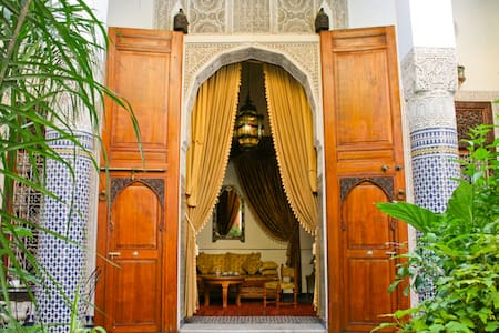 Lovely Cheap Double Room - B&B WIFI Riad Louna - Fès - Wikt i opierunek