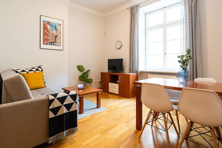 Town Hall Square • 2BR with Sauna • Quiet