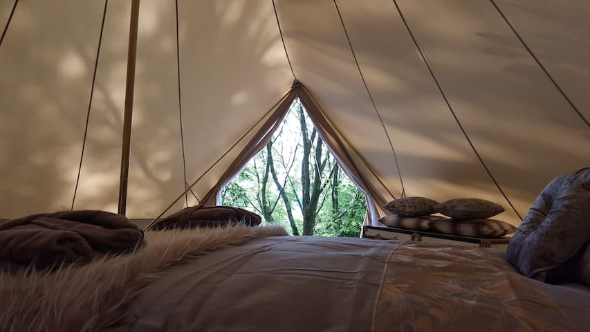 Bluebell View - Luxury Bell Tent