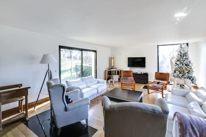 Maison d'architecte de grand confort près de Deauv - Touques