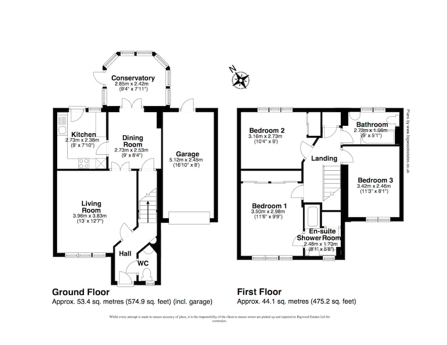 Floor plan. Garage not available for guests but driveway is free for your car.