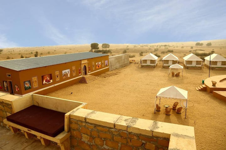 Exotic Luxury Twin Room @Jaisalmer Rajasthan