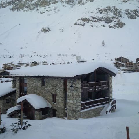 Duplex Apartment in Alpine Chalet