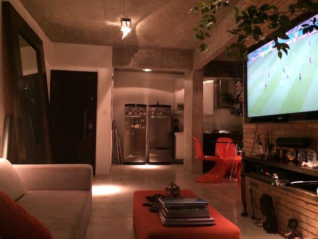 Modern Cool Apartment with unique design