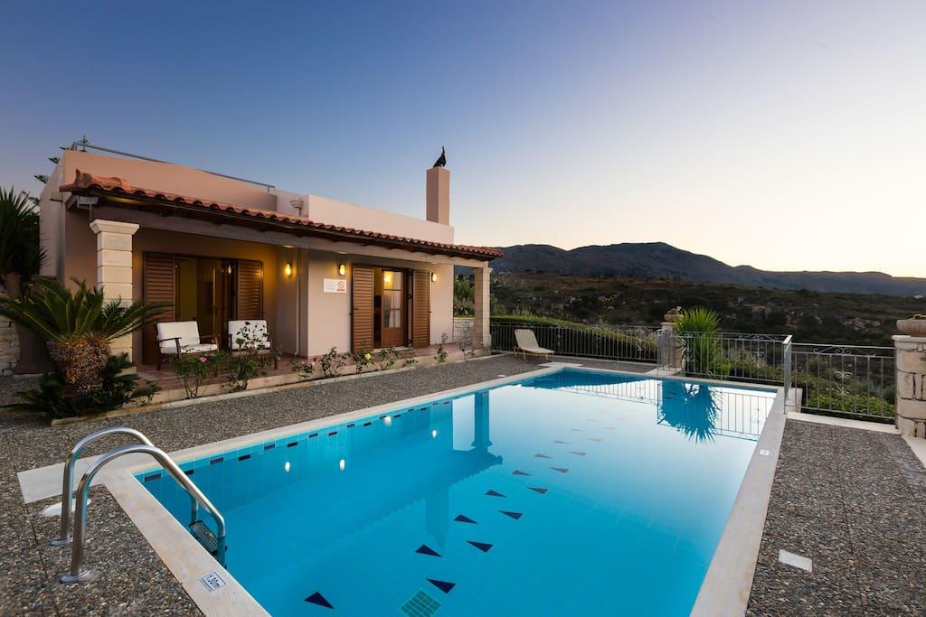 Villa Argiro -Located in the nature offering totally calm & quiet environment