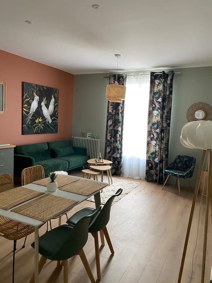 Très bel appartement rénové centre de Cabourg
