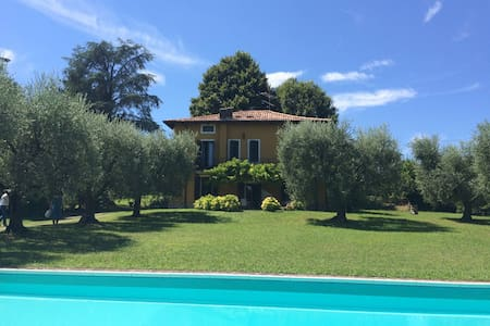 Amazing private suite in country villa Arilù - Padenghe Sul Garda - 別荘