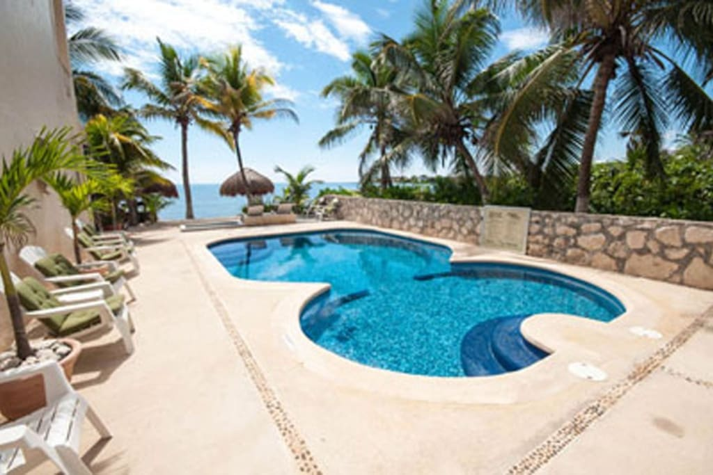 Your pool at Hacienda de la Tortuga