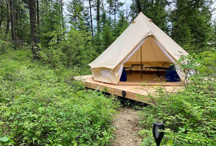 Tent #2 Camp MT.  30 Mins to Glacier National Park