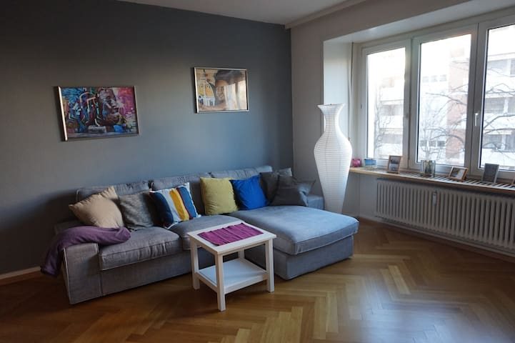 Room in an apartment very central in Basel - Basel - Lejlighed