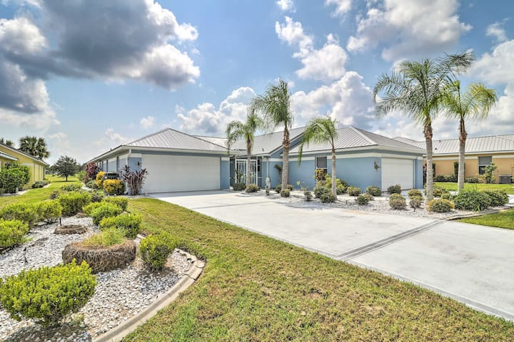 This sunny residence sits in Sebring, Florida!