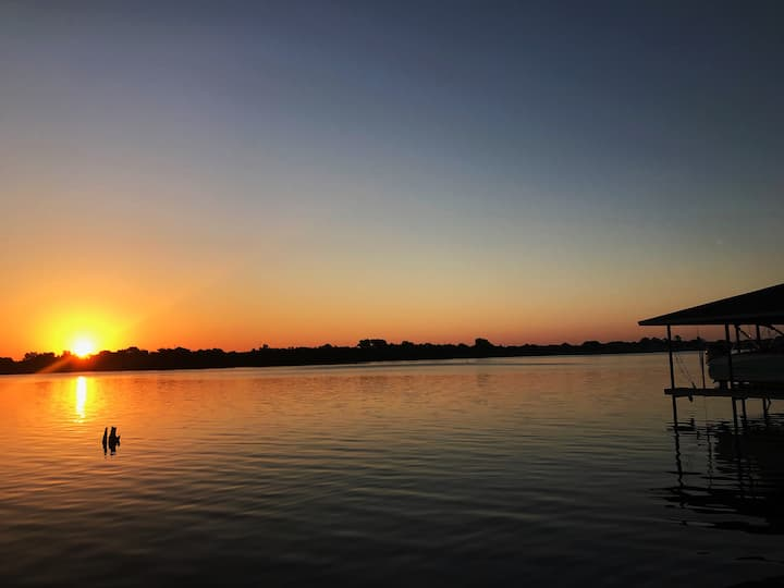 Need to relax? Do so at our lake front property.