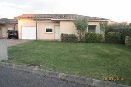 Maison 90m2 résidence avec piscine - Castelnau-d'Estrétefonds - บ้าน