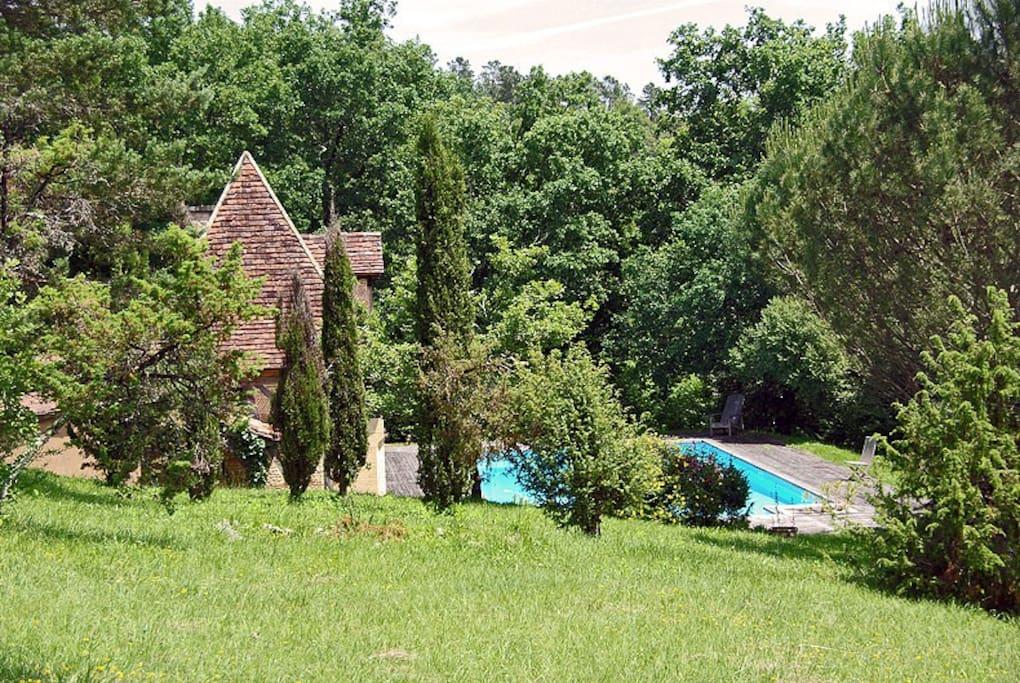 Maison Périgourdine entièrement rénovée dans un parc de 3 hectares
