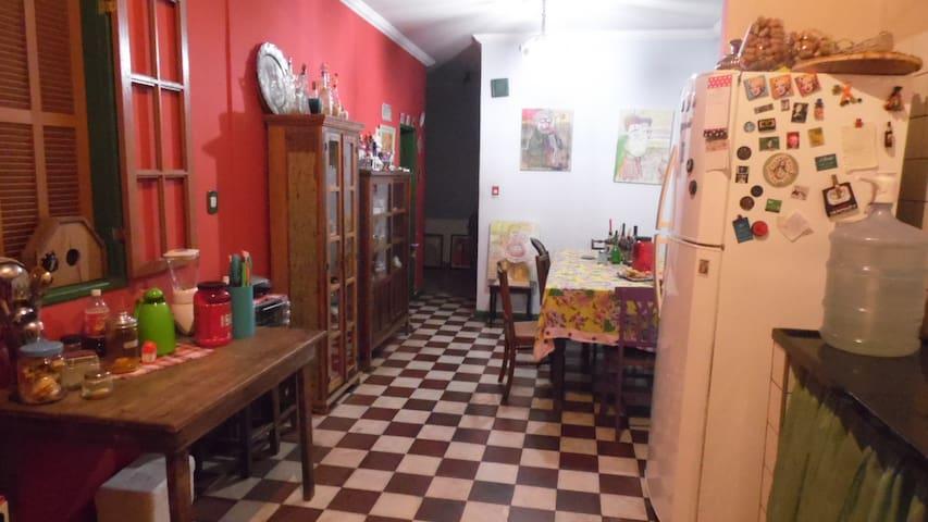 Casa a 900m do Centro de Mariana - Mariana - Rumah