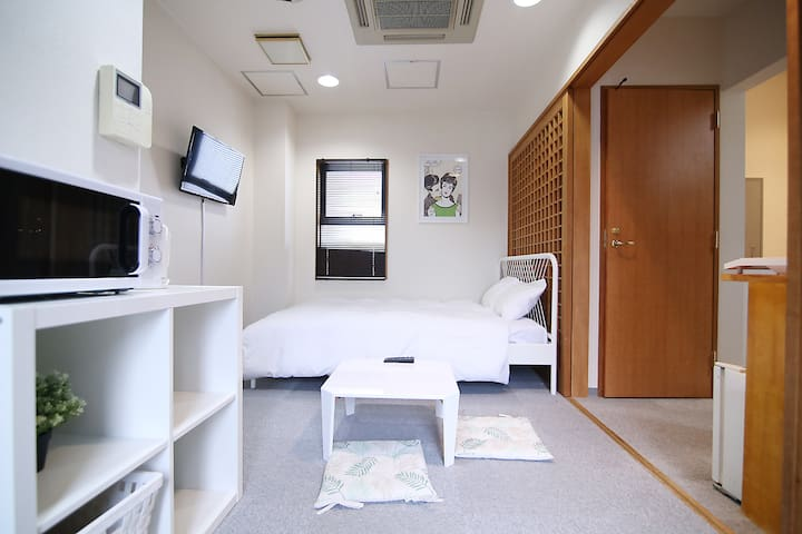 10min on foot from Ueno Park(free pocket wifi)