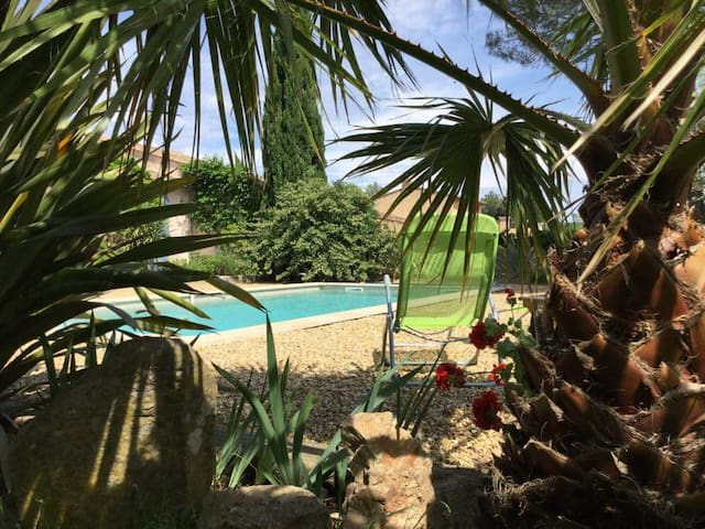 Maset tout confort,calme,BBC,piscine privative - Cogolin - Haus
