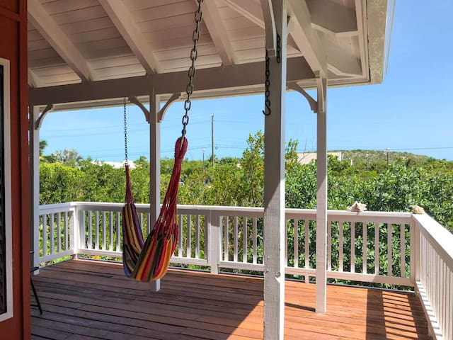 Two bedroom villa with Partial view of Chalk Sound