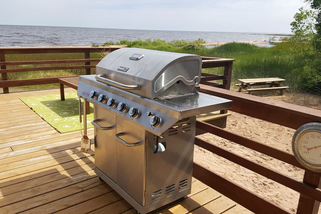 New 5-burner infared grill