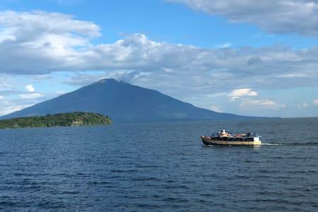 Paradise island in ometepe , Nicaragua