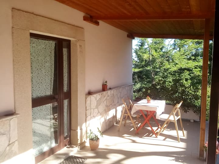 Casa con vista a Pietranico