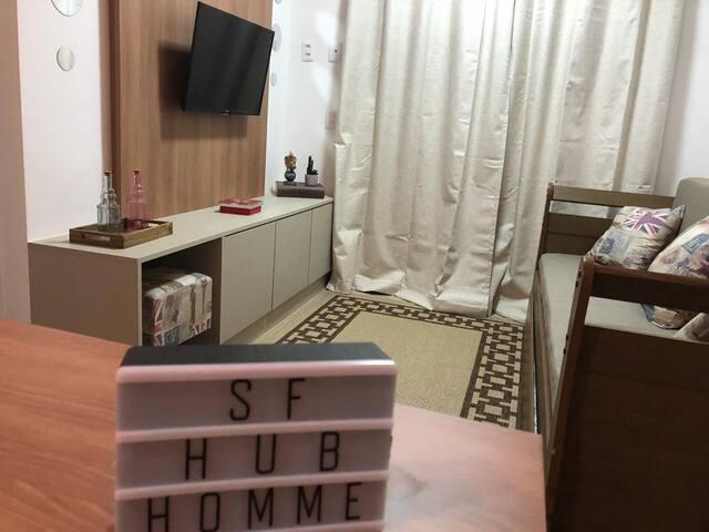 #SF HUB Home Ribeirão Preto II (prox ao Forum)