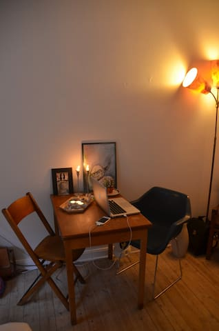 One room in a cozy apartment - Copenhague - Appartement