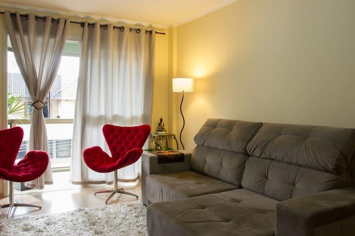 Quarto Privado C/ Cama Casal no Centro!!! - Caxias do Sul - Apartment