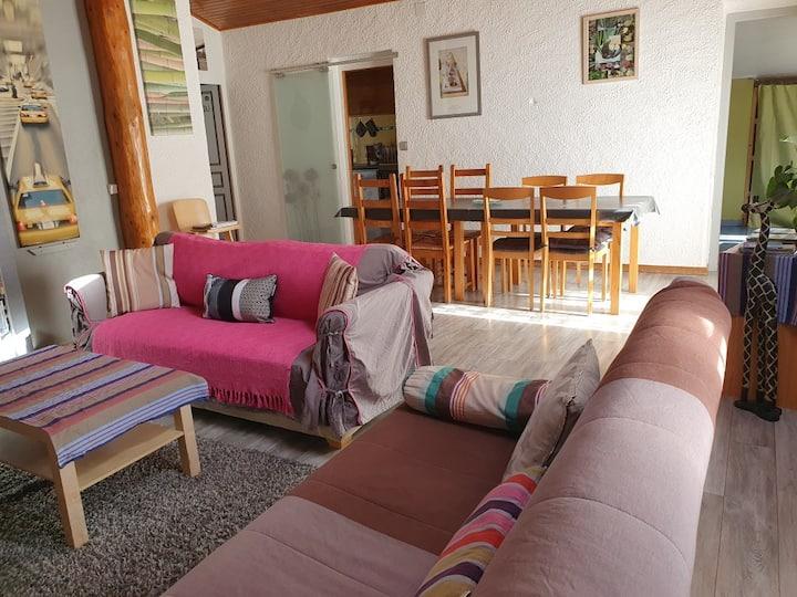 Appartement T3 montagne Matemale