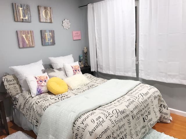 F绿野仙踪comfortable room, free parking - Daly City - Bed & Breakfast