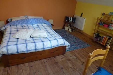 1 chambre indépendante chez l'habitant en ville. - Mirande - Bed & Breakfast