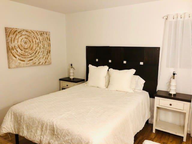 Bedroom 3 -one queen-sized bed