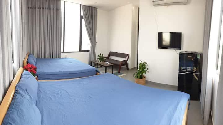 Studio apart near my khe beach, han river, airport