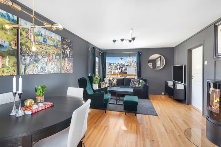 Elegant apartment close to outdoors and centrum
