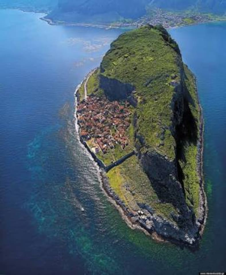 "Monemvasia ""The Rock"" (Aerial View)"