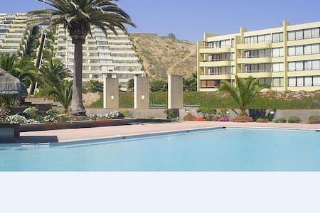 Gran Depto Vista al Mar & Resort Dunas Morrillos - Guanaquero - Apartment
