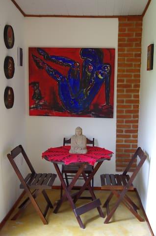Chalé Simples e Aconchegante em Maresias - São Sebastião - Almhütte