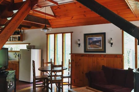 Cute cabin, nestled in woods near lakes - Chalet