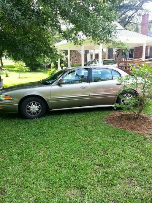 Vehicle you are welcome to use behind carport. Very relaxing place to sit and unwind