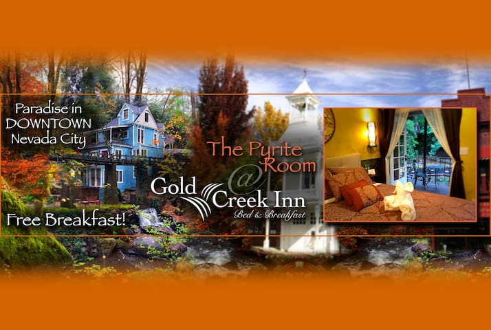 Gold Creek Inn B&B Pyrite Room