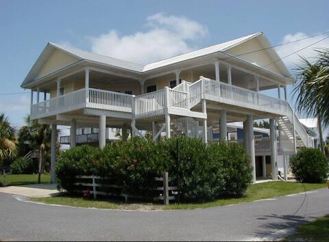 Anchors Inn House rental on the Gulf.