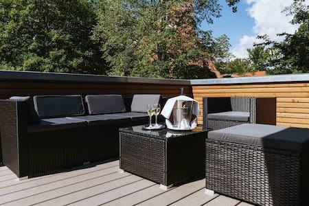 Premium Deluxe Zimmer mit luxuriöser Dachterrasse