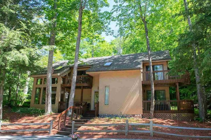Cozy Lake Michigan Cottage Tucked Inn The Trees