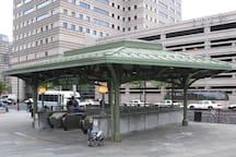 Grove Street Train Station