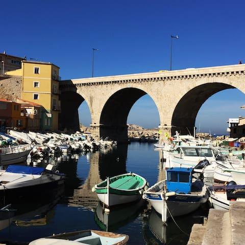 Cabanon de pêcheur - Port du Vallon des Auffes