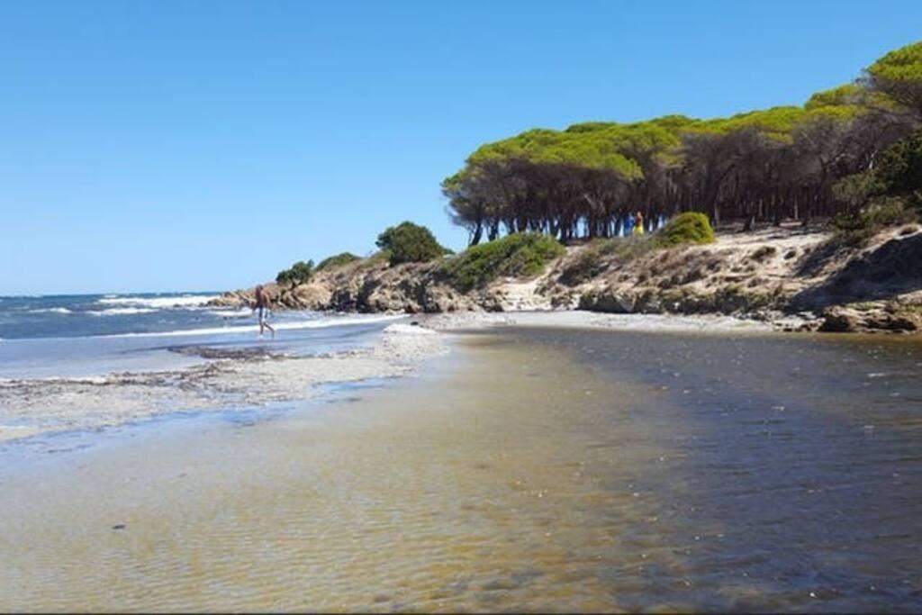 Una delle magnifiche spiagge
