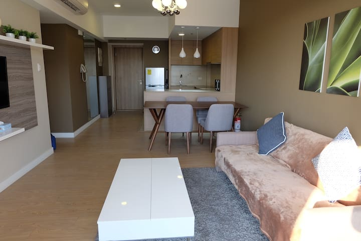Comfy 1 BR connected to Shang Mall - Mandaluyong - Apartemen