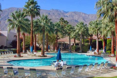 Bright and Sunny downtown Palm Springs Condo