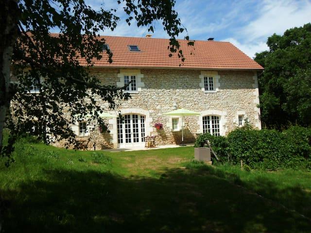 la grange du coudert - Saint-Cybranet - House