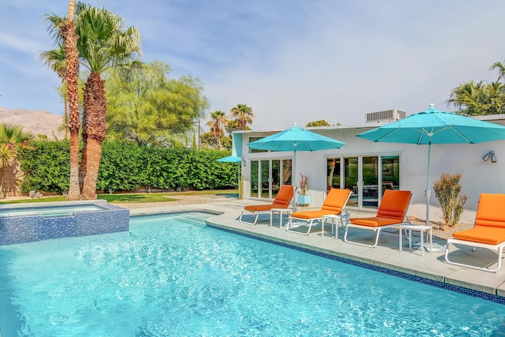 Papillon Palm Springs - Classic Alexander Butterfly Home! Close to town!